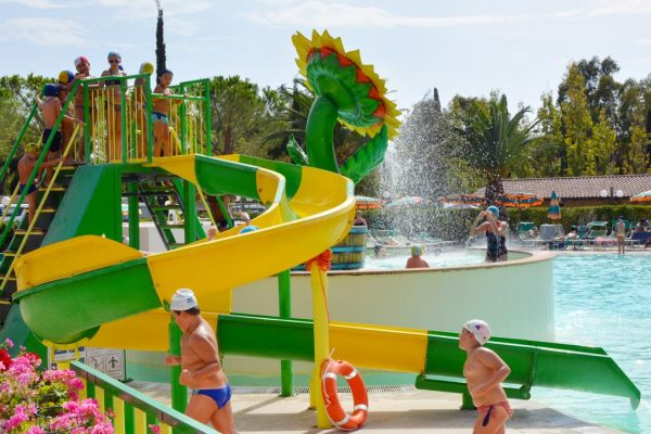 Piscina Camping Village Free Time